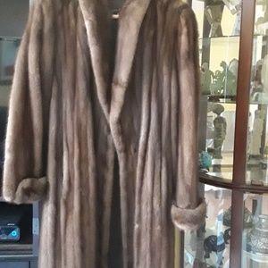Jackets & Blazers - Ladies full length mink coat